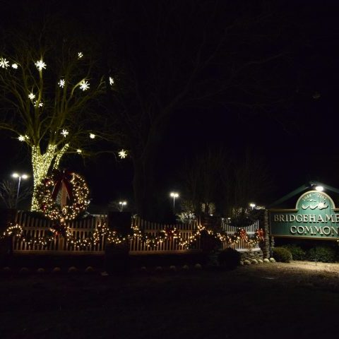 Christmas Lights in Bridgehampton