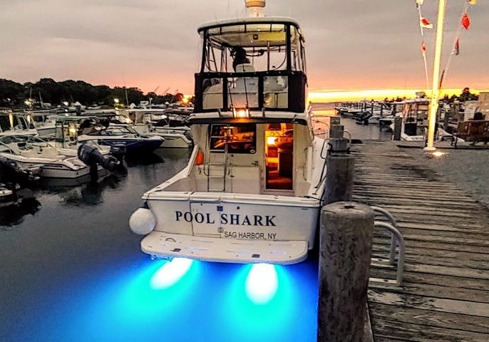Come aboard the Pool Shark, Sag Harbor, NY