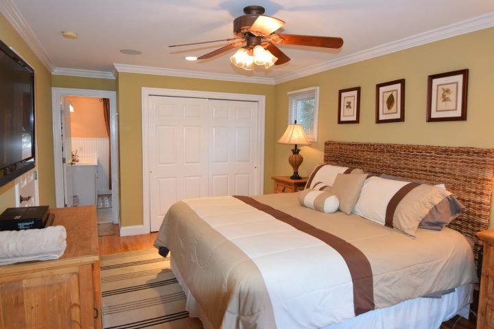 Second floor master bedroom in HamptonsGetaway, a Hamptons rental.